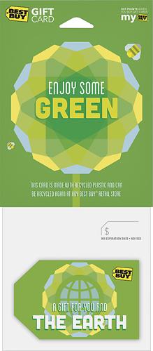 Best Buy GC - $100 Enjoy Some Green Gift Card