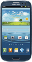 Samsung - Galaxy S III 4G with 16GB Mobile Phone - Blue (AT&T)