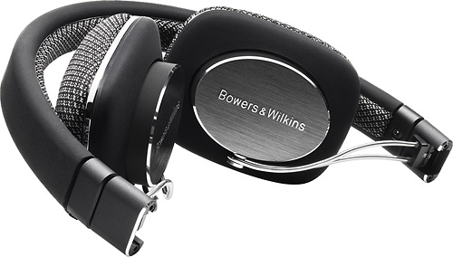 Bowers & Wilkins - P3 Over-the-Ear Headphones - Black