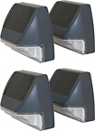 Smart Solar - Solar Wall Light (4-pack)