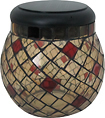 Smart Solar - Glass Mosaic Solar T-Light - Champagne