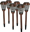Smart Solar - Charleston Solar Lights (6-Pack) - Copper