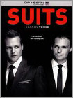 Suits: Season Three [4 Discs] (Boxed Set) (Ultraviolet Digital Copy) (DVD) (Eng)