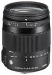 Sigma - 18-200mm f/3.5-6.3 DC OS HSM C Macro Lens for Select Nikon Cameras - Black