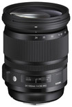 Sigma - 24-105mm f/4 DG OS HSM A Art Lens for Select Nikon Cameras - Black