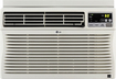 LG - 8,000 BTU Window Air Conditioner - White