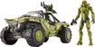 Mattel - Halo® Warthog Vehicle & Master Chief Figure - Green 5617301