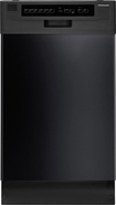 "Frigidaire - 18"" Built-In Dishwasher - Black"
