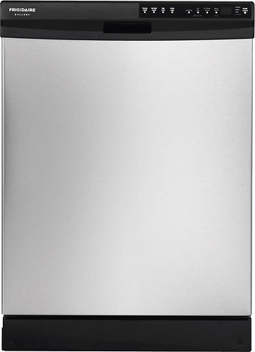 """Frigidaire Gallery 24"""" Tall Tub Built-In Dishwasher Stainless Steel FGBD2445NF"""