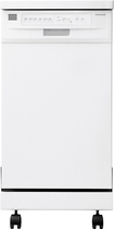 "Frigidaire - 18"" Portable Dishwasher - White"