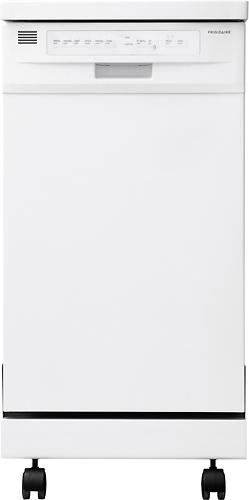"""Frigidaire - 18"""" Portable Dishwasher - White"""