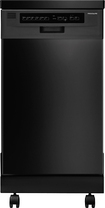 "Frigidaire - 18"" Portable Dishwasher - Black"