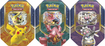 Pokemon - Battle Heart Tin Trading Cards - Multi