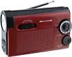 Weather X - AM/FM/NOAA Weather Band LED Flashlight Radio - Red