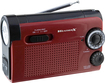Weather X - AM/FM/NOAA Weather Band LED Flashlight Radio - Red