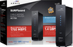 Arris - Surfboard Dual-band Wireless-ac Router With Docsis 3