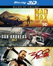 3d Film Collection (mad Max: Fury Road/san Andreas/300: Rise Of An Empire) (dvd) 5619511