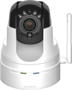 D-Link - High-Definition Pan and Tilt Wi-Fi Video Security Camera - White
