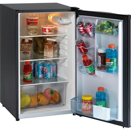 Avanti - 4.5 Cu. Ft. Compact Refrigerator - Black