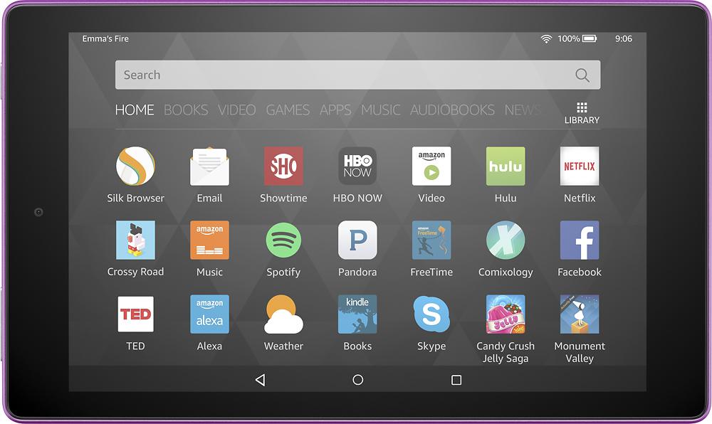 "Amazon - Fire Hd8 - 8"" - Tablet - 16gb - Wi-fi - Magenta"