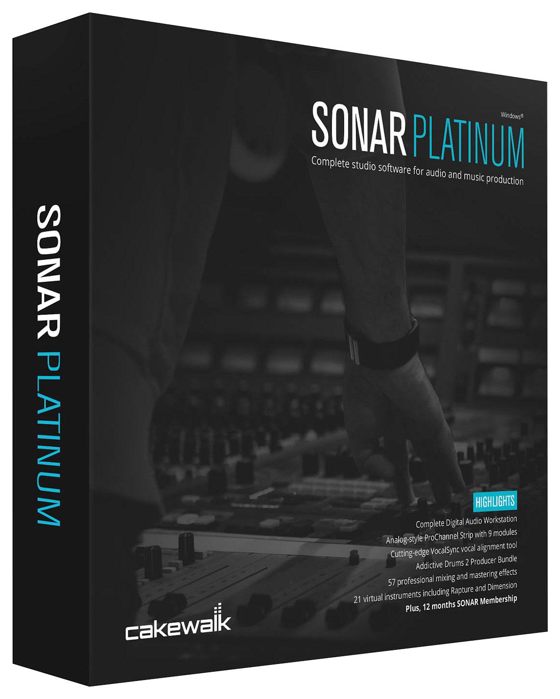 SONAR Platinum Software for PC - Windows
