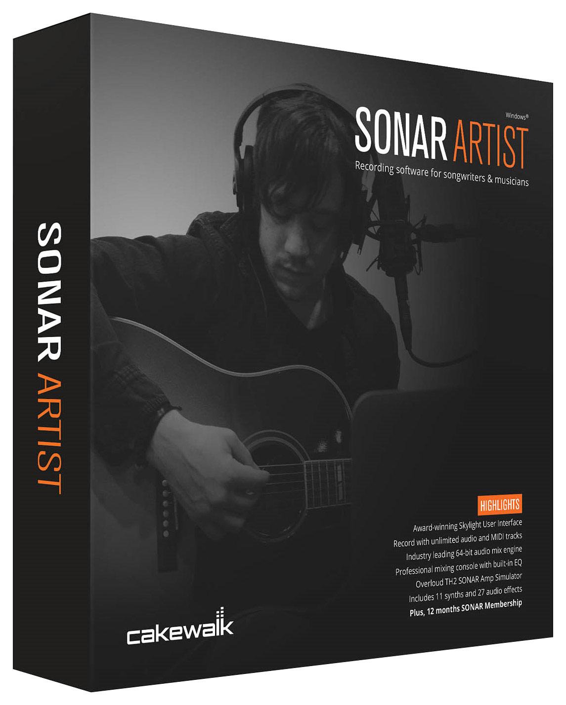 SONAR Artist Software for PC - Windows