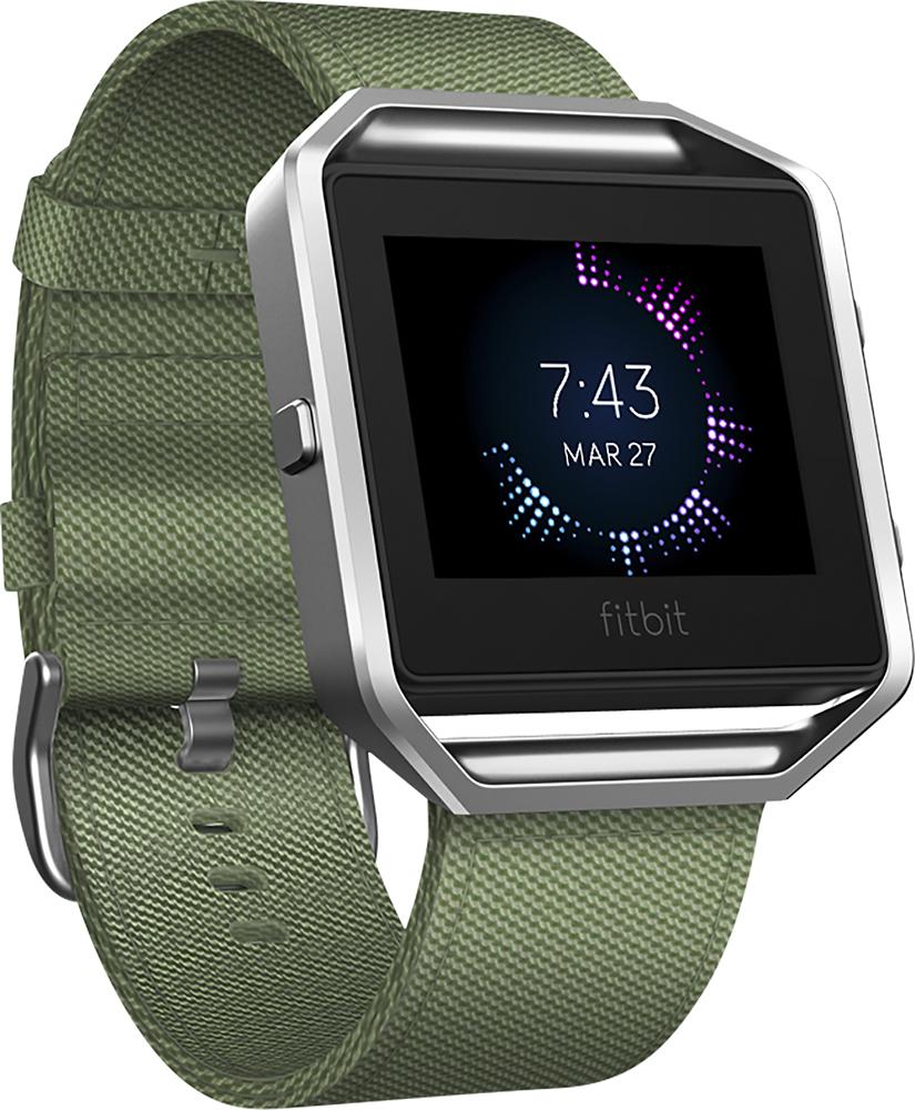 Fitbit - Blaze Nylon Band Watch Strap For Fitbit Blaze - Oli