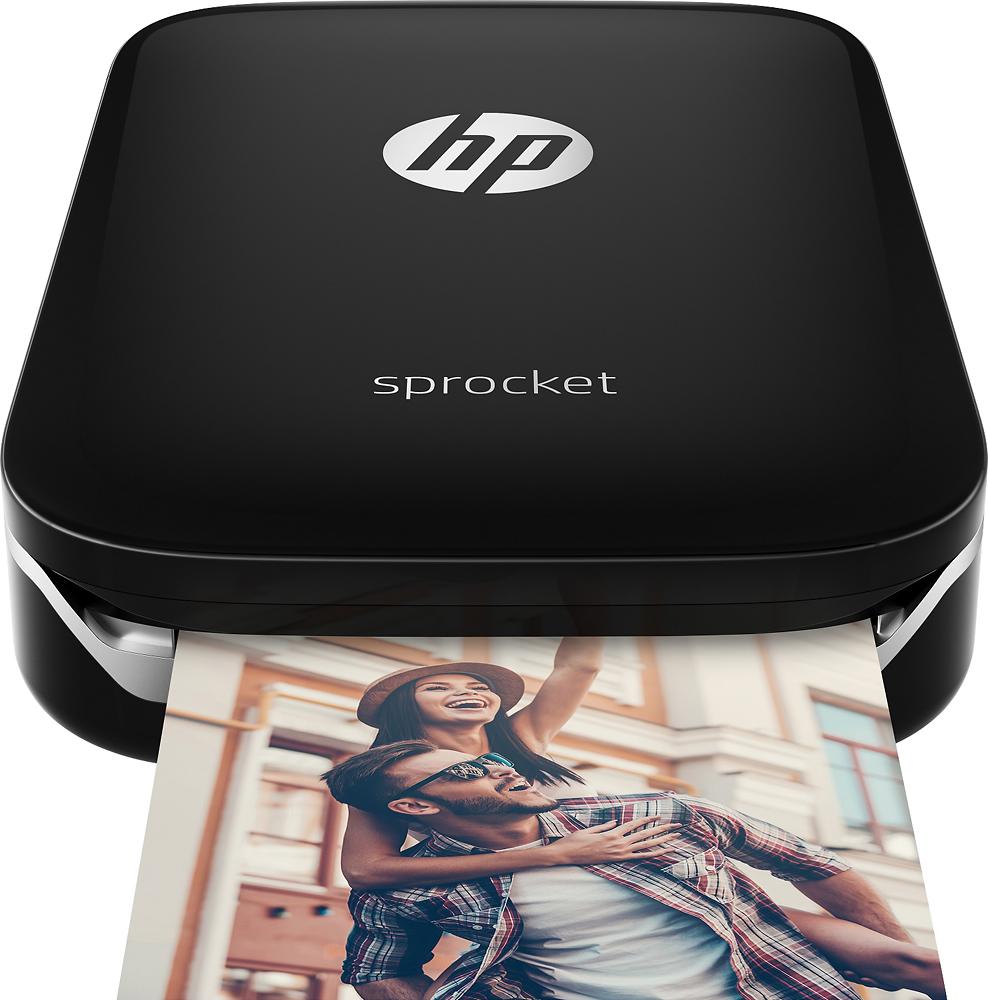 Hp - Sprocket Photo Printer - Black