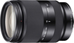Sony - 18-200mm f/3.5-6.3 Compact E-Mount Standard Zoom Lens - Black