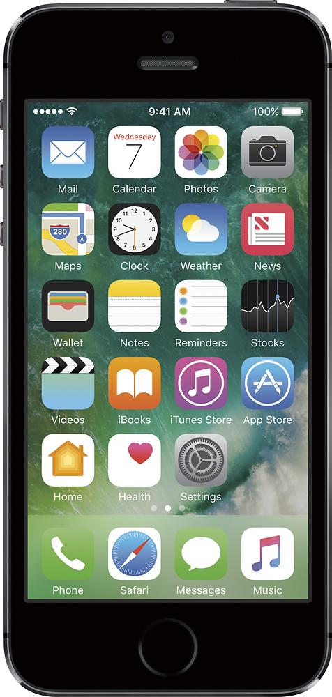 Verizon Prepaid - Apple Iphone 5s 16gb Memory Prepaid Cell P