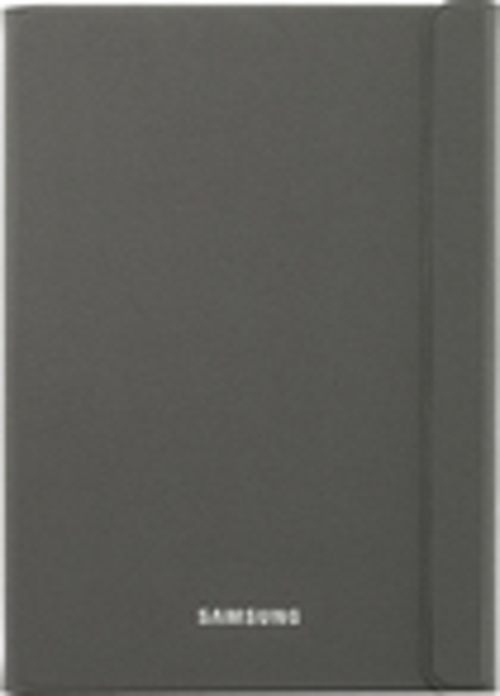 Samsung - Book Cover for Samsung Galaxy Tab A 9.7 - Dark Titanium
