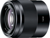 Sony - 50mm f/1.8 OSS Prime Lens for Select Sony Alpha E-mount Cameras - Black