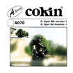 Cokin - A Series Incolor 1 66mm x 72mm Wide-Angle Center Spot Lens Filter - Clear/Gray