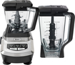 Ninja - Kitchen System 1200 3-Speed Blender - Black/Chrome