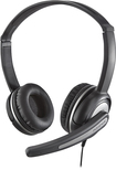 Insignia™ - On-Ear Stereo Headset - Black