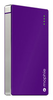 mophie - powerstation 4000 External Battery for Most Micro USB Devices - Purple