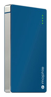 mophie - powerstation 4000 External Battery for Most Micro USB Devices - Blue