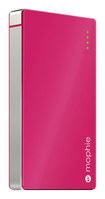 mophie - Juice Pack Powerstation External Battery for Most Micro USB Devices - Pink