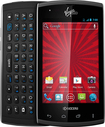 Virgin Mobile - Kyocera Rise No-Contract Cell Phone - Black