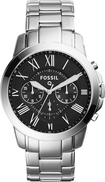 Fossil - Q Grant Chronograph Hybrid Smartwatch 44mm Stainless Steel - Stainless Steel