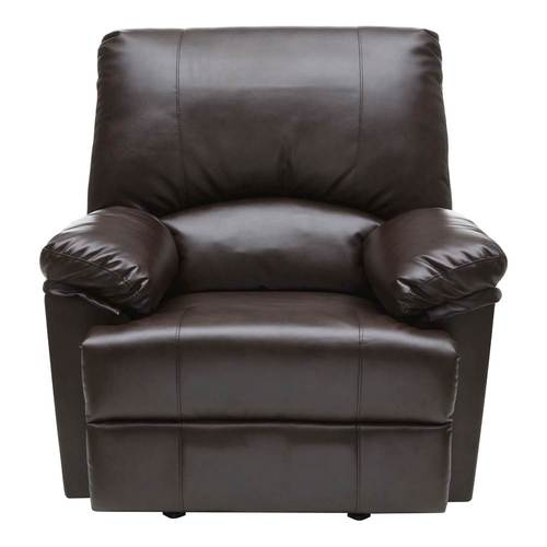 Relaxzen   Heat And Massage Rocker Recliner Chair   Brown   Larger Front
