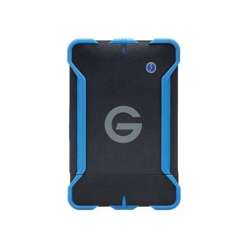 G-Technology - G-DRIVE ev ATC 1TB External USB 3.0 / Serial ATA Portable Hard Drive - Black/Blue