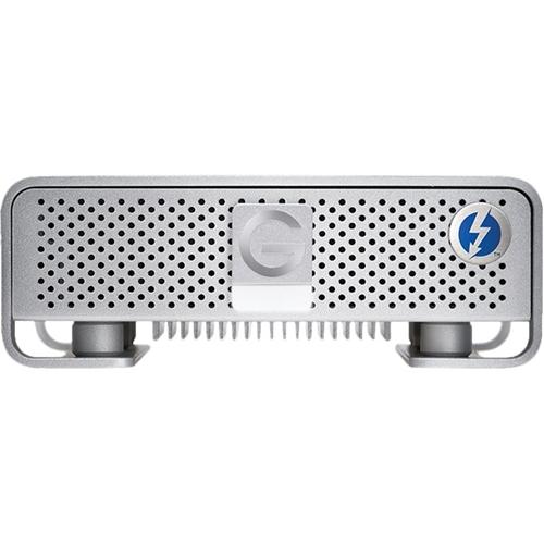 G-Technology - G-DRIVE 8TB External USB 3.0 / Thunderbolt Hard Drive - Silver