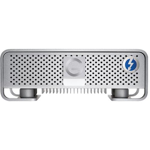 G-Technology - G-DRIVE 6TB External USB 3.0 / Thunderbolt Hard Drive - Silver