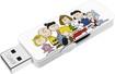 EMTEC - Peanuts Gang 8GB USB 2.0 Flash Drive - White