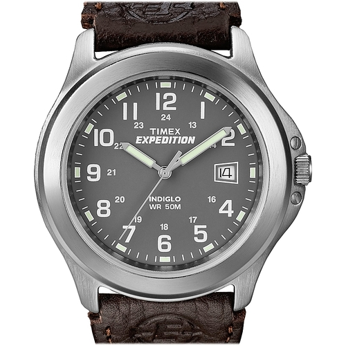 s watch men classic all mens waterbury strap leather chronograph shop watches timex