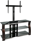 Bell'O - Triple Play TV Stand for Most Flat-Panel TVs Up to 55""