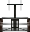 "Bell'O - Triple Play TV Stand for Most Flat-Panel TVs Up to 55"" - Espresso"