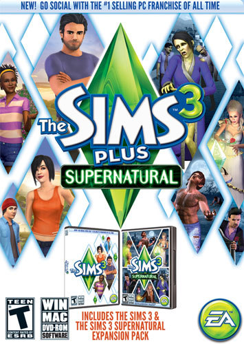 Electronic Arts 16977 Sims 3 Plus Supernatural Pc
