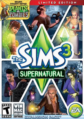 The Sims 3: Supernatural Expansion Pack - Windows|Mac